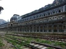 Spain Train Station Abandoned