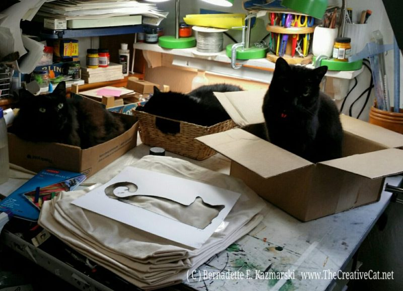 Preparing for printing.