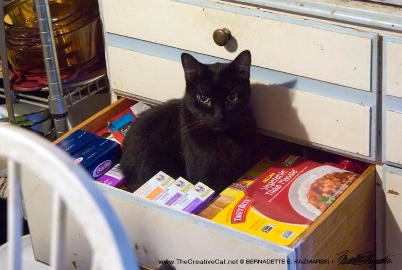 Mr. Sunshine in the drawer.
