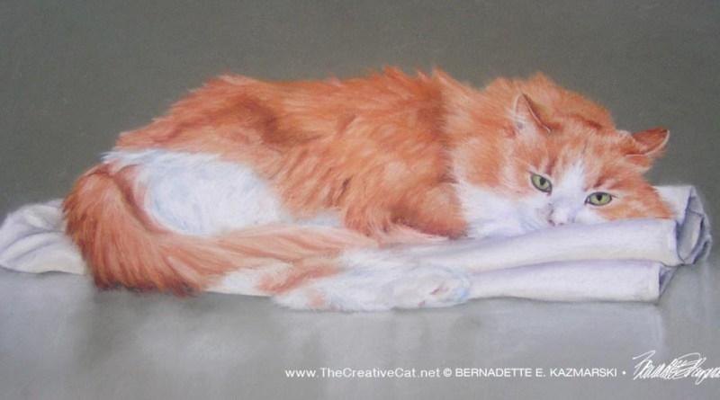 """Christie, 2007, pastel, 14"""" x 23"""" © Bernadette E. Kazmarski"""