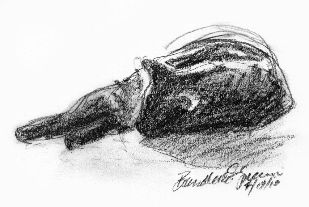 Daily Sketch Reprise: Relaxed, 2013