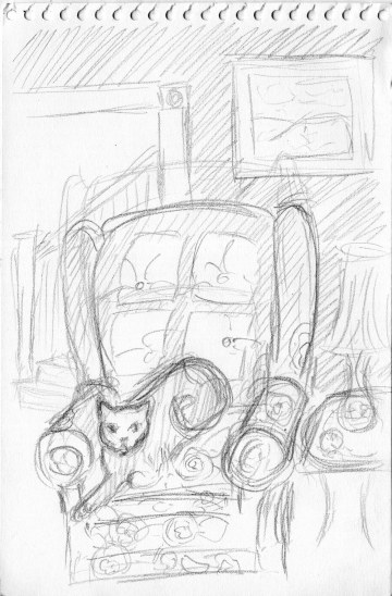 pencil sketch idea for illustration