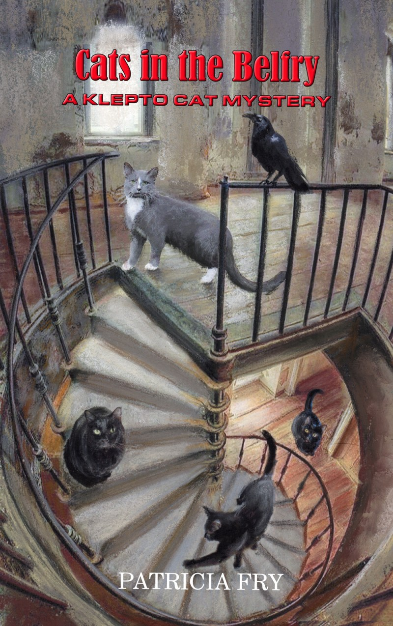 """""""Cats in the Belfry"""" cover."""