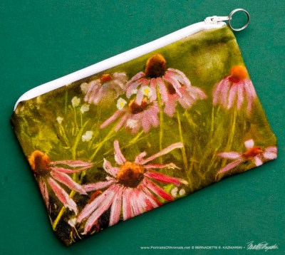 Evening Wildflowers accessory bag