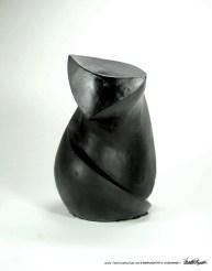 The Black Cat Sculpture