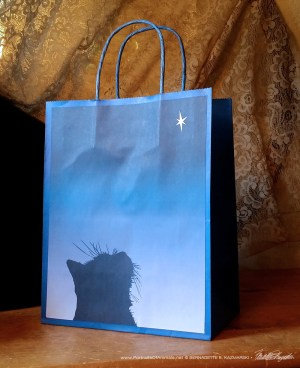 Star of Kittens gift bag
