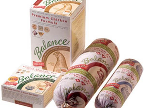 Packages of recalled Bravo products.