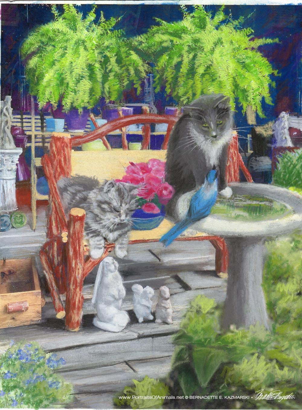 "Featured Artwork: New Klepto Cat Book Cover, ""The Amazing CATventure"""