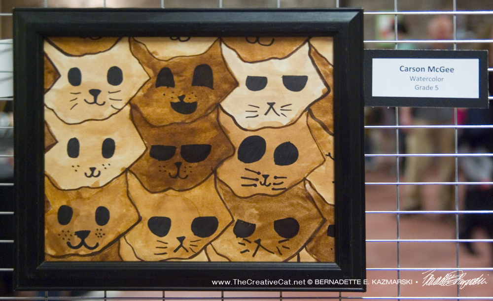 Creating With Cats: Cat Art at the Student Art Show