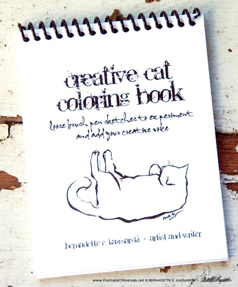 Creative Cat Coloring Book