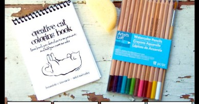 Celebrate National Coloring Day With the Creative Cat Coloring Book