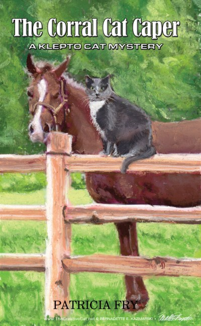 """The Corral Cat Caper"" book cover"