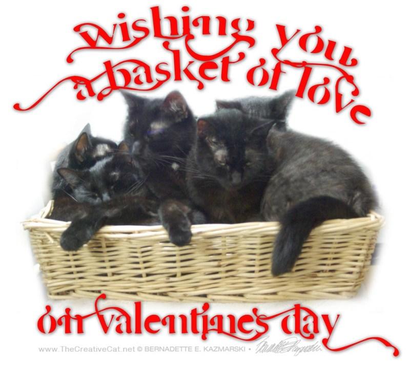 Happy Valentine with the original photo