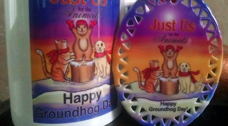 Groundhog Day Mugs benefit homeless pets!
