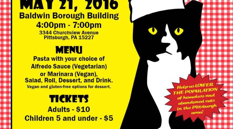 Homeless Cat Management Team first ever spaghetti dinner!