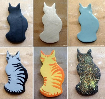 cat refrigerator magnets