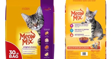 Voluntary Recall of Meow Mix® Original Choice Dry Cat Food for Potential Salmonella Contamination
