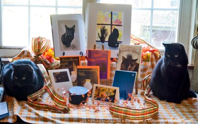 Mr. Sunshine and Jelly Bean present the October Feline Sampler Box!