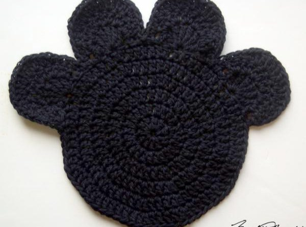 Black pawprint