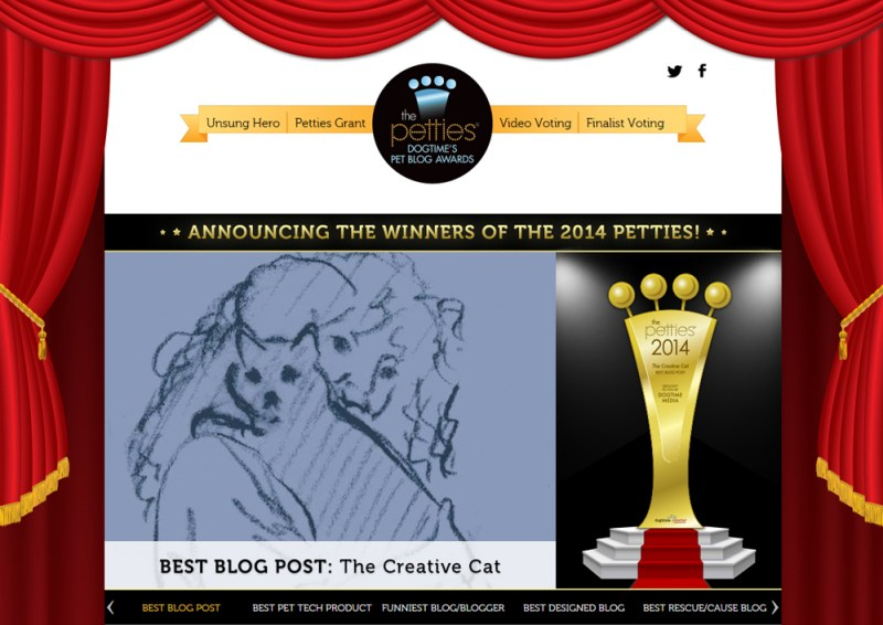 We won for Best Blog Post!