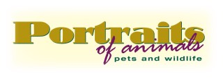 portraits of animals logo