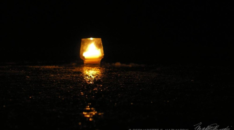 photo of A single candle