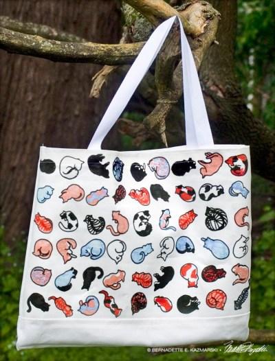 The TNR Story tote bag