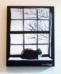 "First Light 8"" x 10"" wood-mounted print"