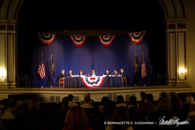 The photo of the debate I used for the audience.