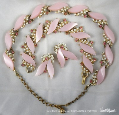The pink set.