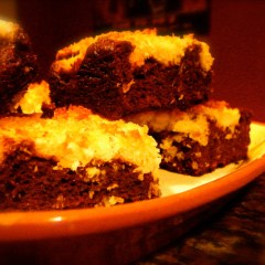 Magic Brownie Bars from PaleOMG