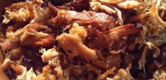 Slow Cooker Bacon Enhanced Carnitas