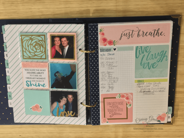 """Unless you've been living under a rock... it would be hard not to notice that """"planners"""" are the latest """"big"""" thing. Discover my top 5 stamps to decorate your planner with www.TheCreativeEclectic.com #planners #solutions #creativelife #getorganised #makeprettythings #memoriesmatter #tellyourstory #memorykeeping #journal #showmeyourplanner #stampinup #rubberstamping #inspirecreateshare #lovetoday"""