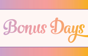 Redeem your 2018 Bonus Days coupons before 30 September 2018! Here's how! It's a case of use it or lose with these coupons!