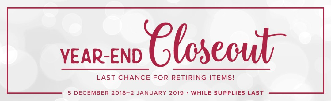 The 2018 Holiday Catalogue retiring list is here and to celebrate Stampin' Up! is having a year end close out sale. Your Last chance to get your holiday favourites visit www.thecreativeeclectic.com to find out more #yearendcloseoutsale #retiringlist #stampinup #2018HolidayCatalogue
