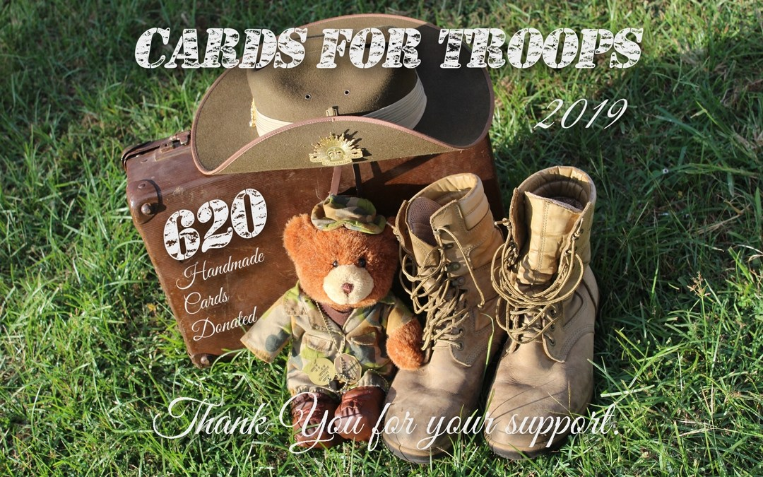 Overwhelmed by Cards For Troops