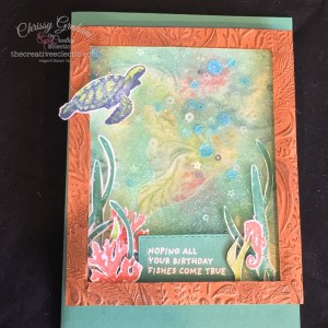 Shake it up with this Whale Done Shaker Card #shakercard #handmadecard #WhaleDone #stampinup
