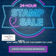 24 Hour Stamp Sale 23rd Setpember 2020