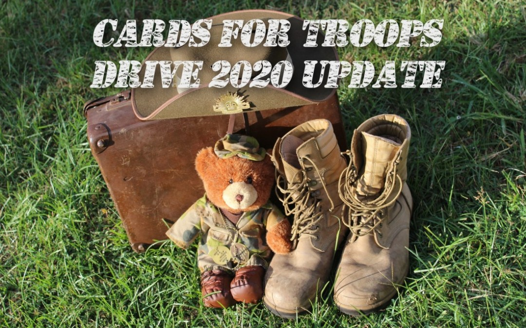 Cards for Troops Drive Closed