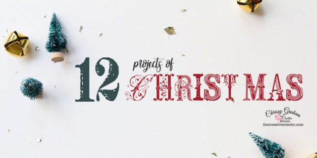12 Projects of Christmas - Get 12 exclusive Christmas Craft tutorials when you subscribe to The Creative Eclectic's email newsletters before 12pm on Saturday, 17 October 2020. #thecreativeeclectic #chrissygraham #papercraft #stampinup #makeprettystuff