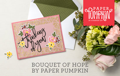Bouquet of Hope by Paper Pumpkin