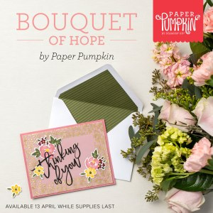 Bouquet of Hope Paper Pumpkin Kit Available Now