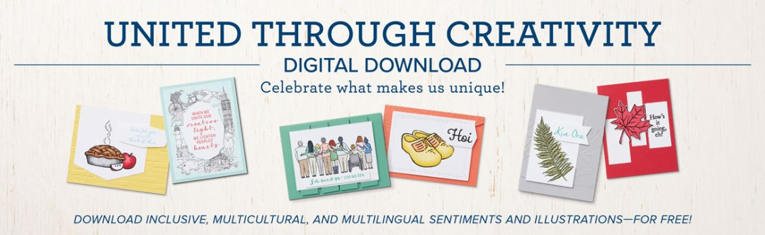United Through Creativity Digital Download Celebrate diversity with inclusive, multicultural, and multilingual sentiments and illustrations—for free!