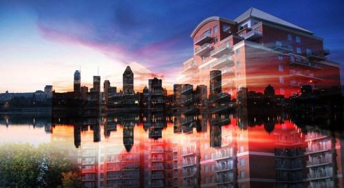 Urban Residence Photo Montage