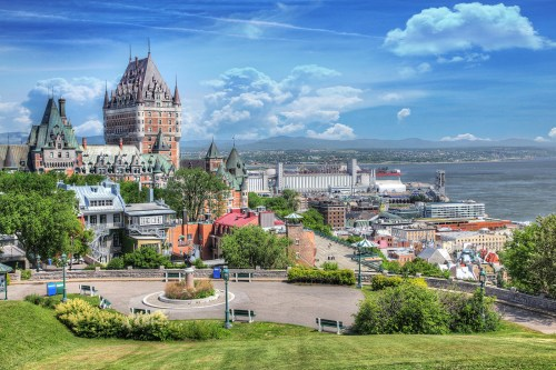 Old Quebec City District in Summer