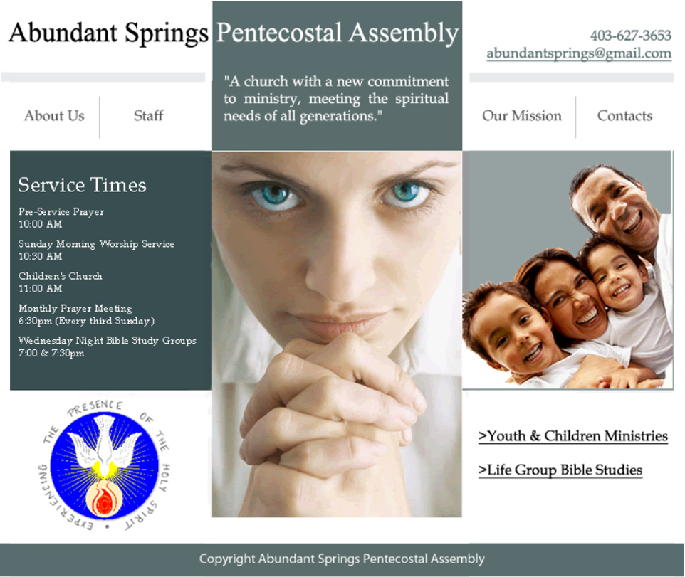 Website - Abundant Springs 1