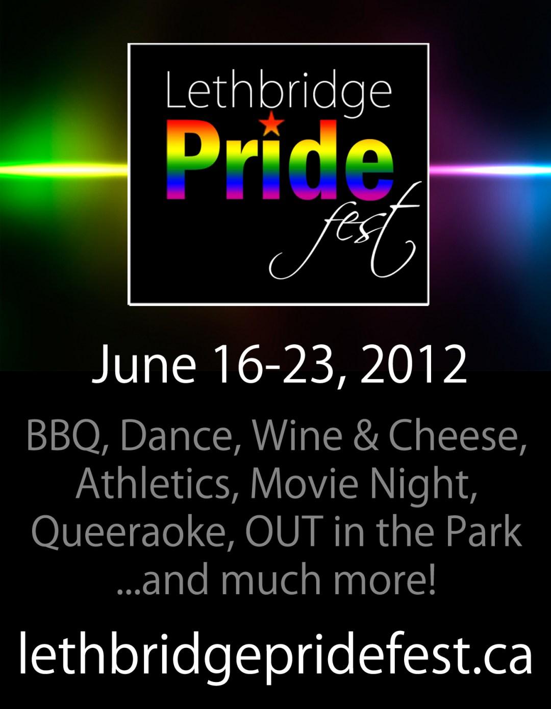 Lethbridge Pride Print Ad
