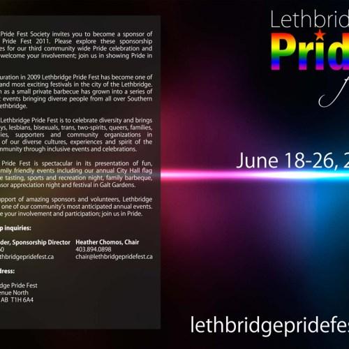 Lethbridge Pride Fest Sponsorship Package Covers