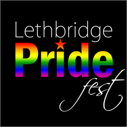 Logo - Lethbridge Pride B&W
