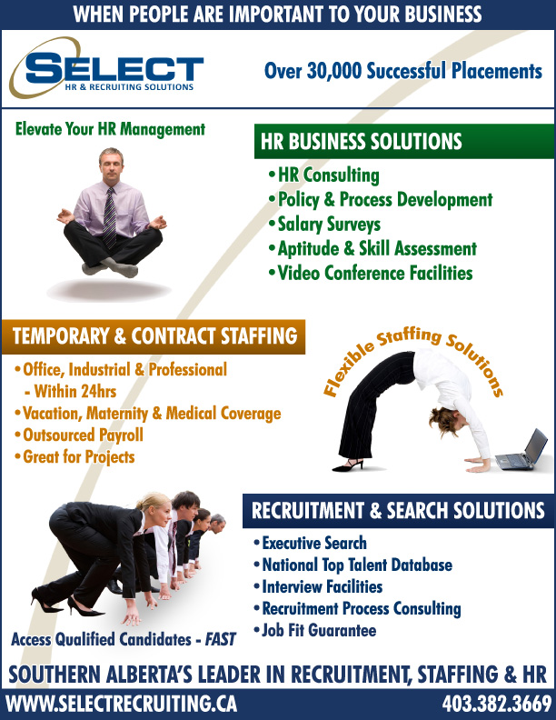 Select People Solutions Services Ad